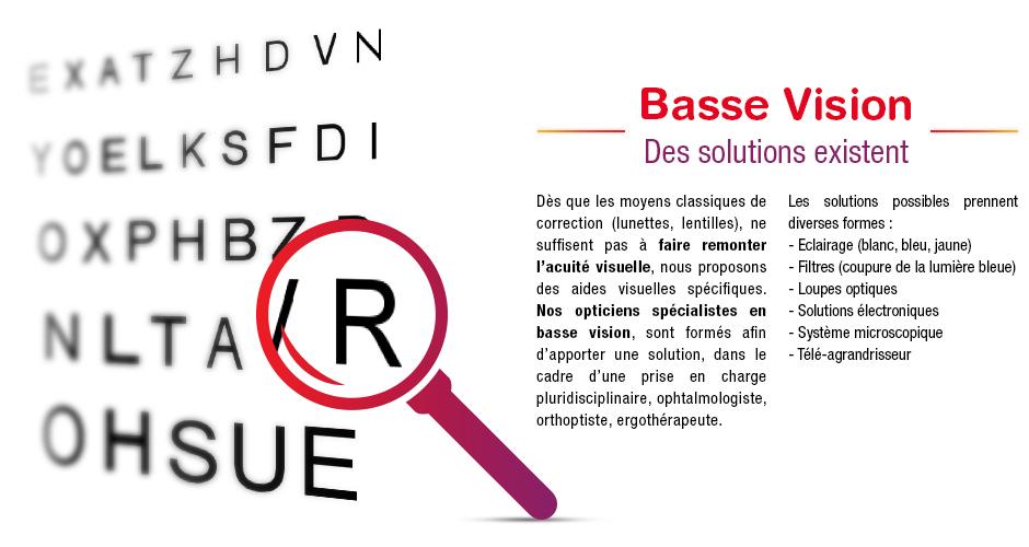 Basse vision, des solutions existent, rendez-vous chez votre opticien mutualiste